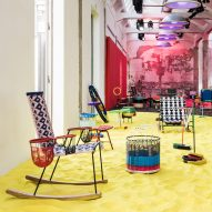 Marni reinterprets childhood toys for colourful Playland installation