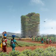 Modular farm tower for sites across Africa wins international skyscraper competition