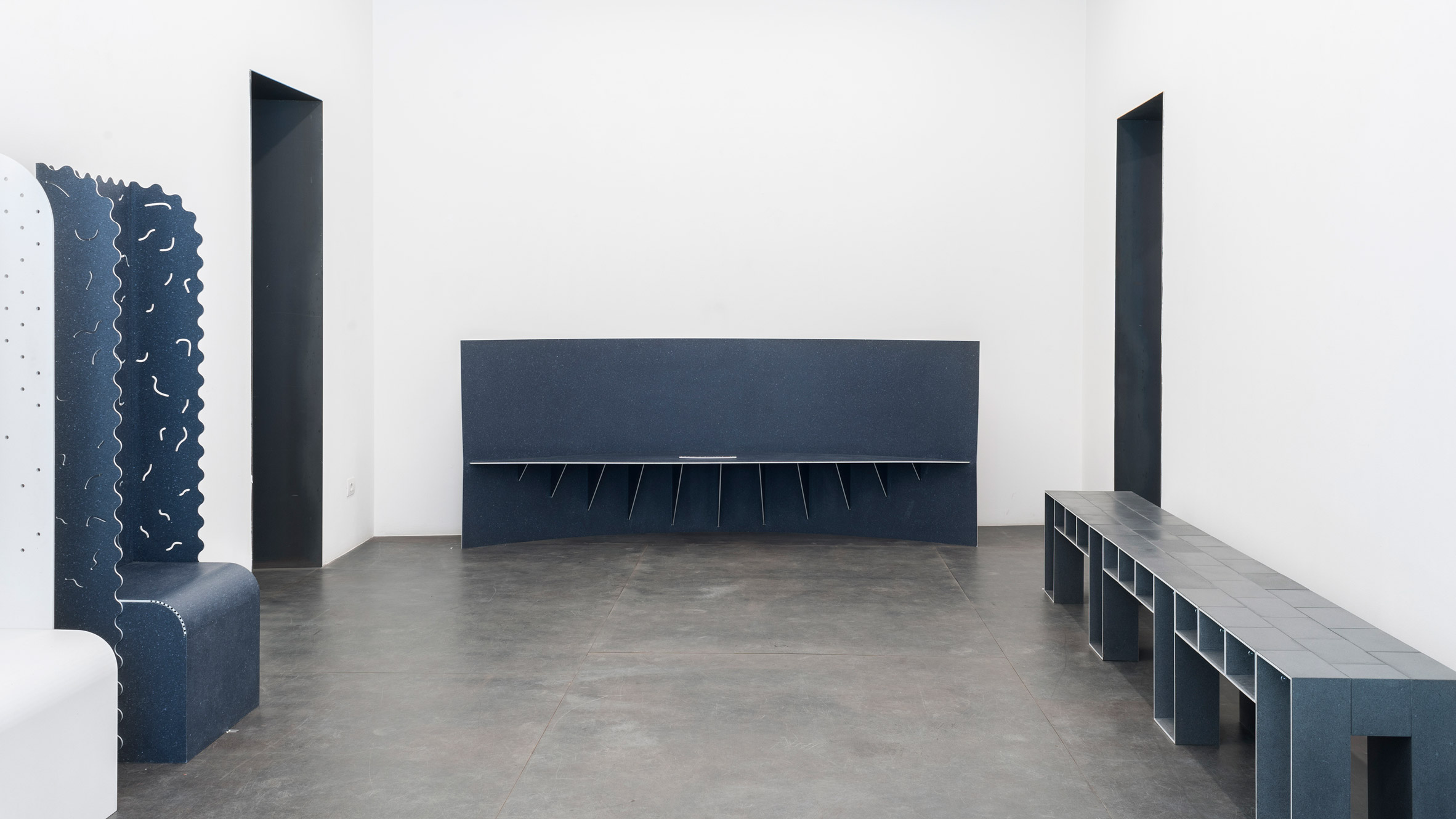Max Lamb creates 12 benches from discarded textiles for Really ...