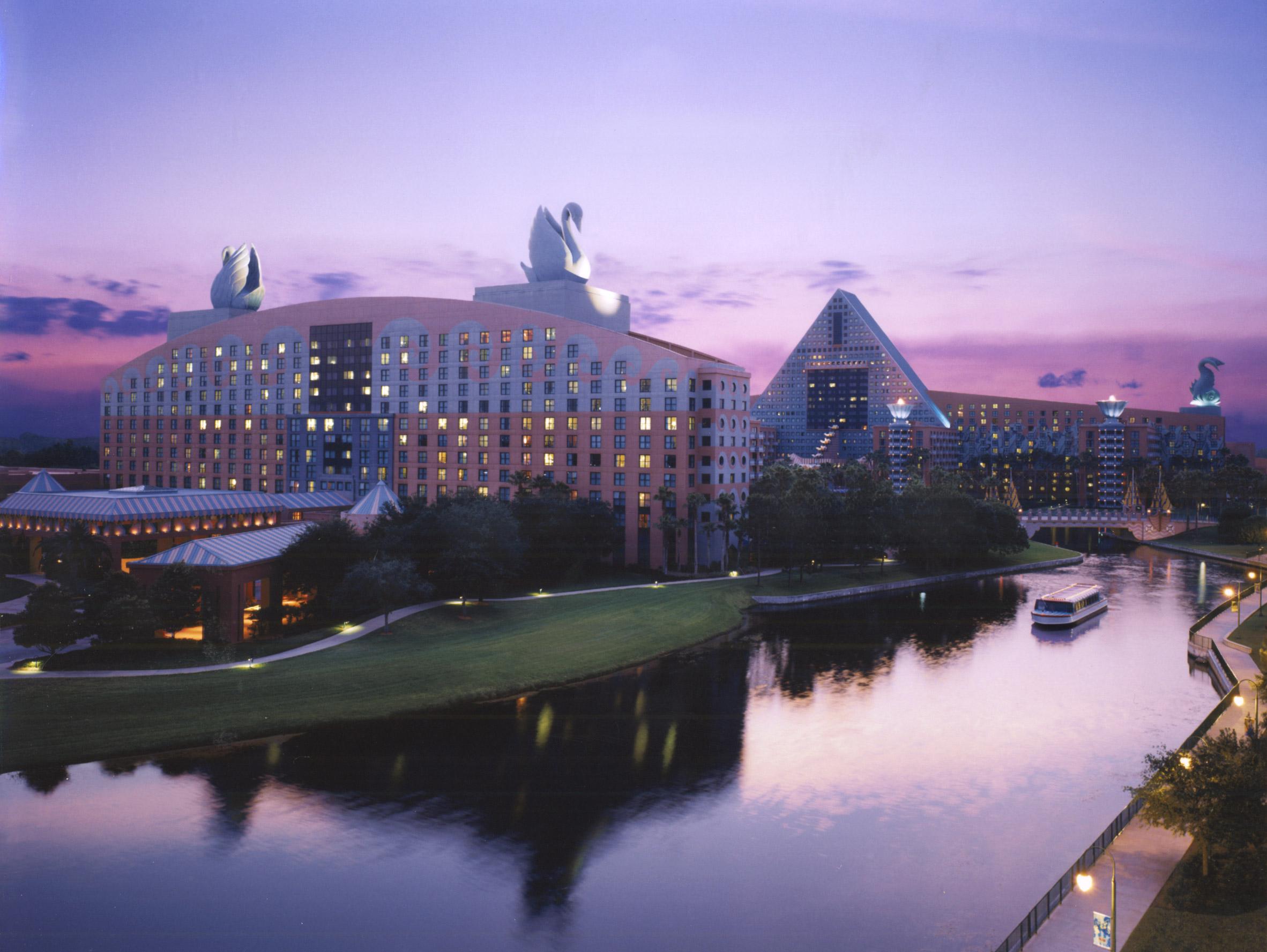 Walt Disney World Swan resort by Michael Graves