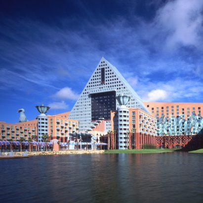 Walt Disney World Dolphin hotel by Michael Graves