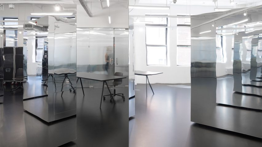 Only if architecture creates mirrored new york office space that