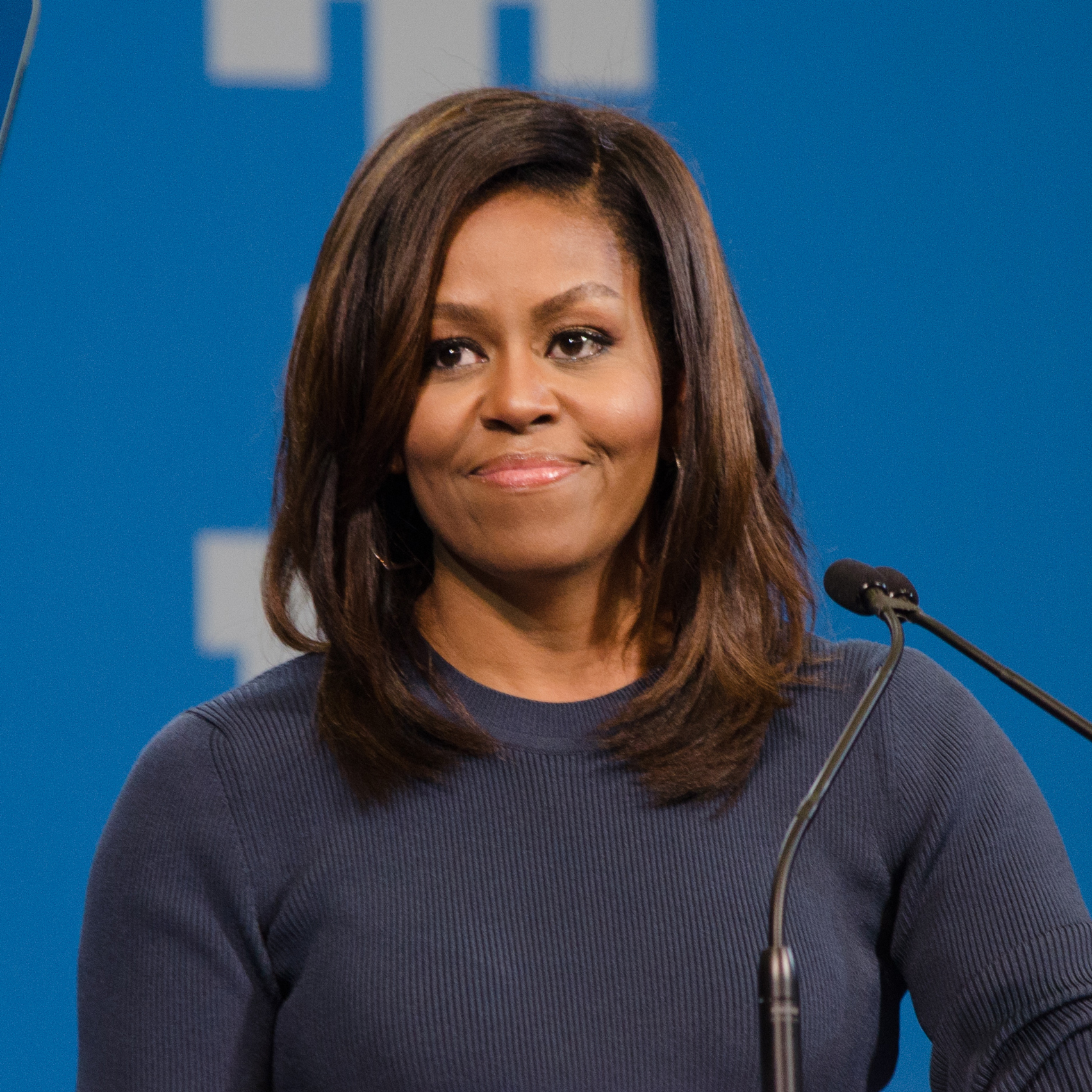 Make room for more women at the table, Michelle Obama tells Apple