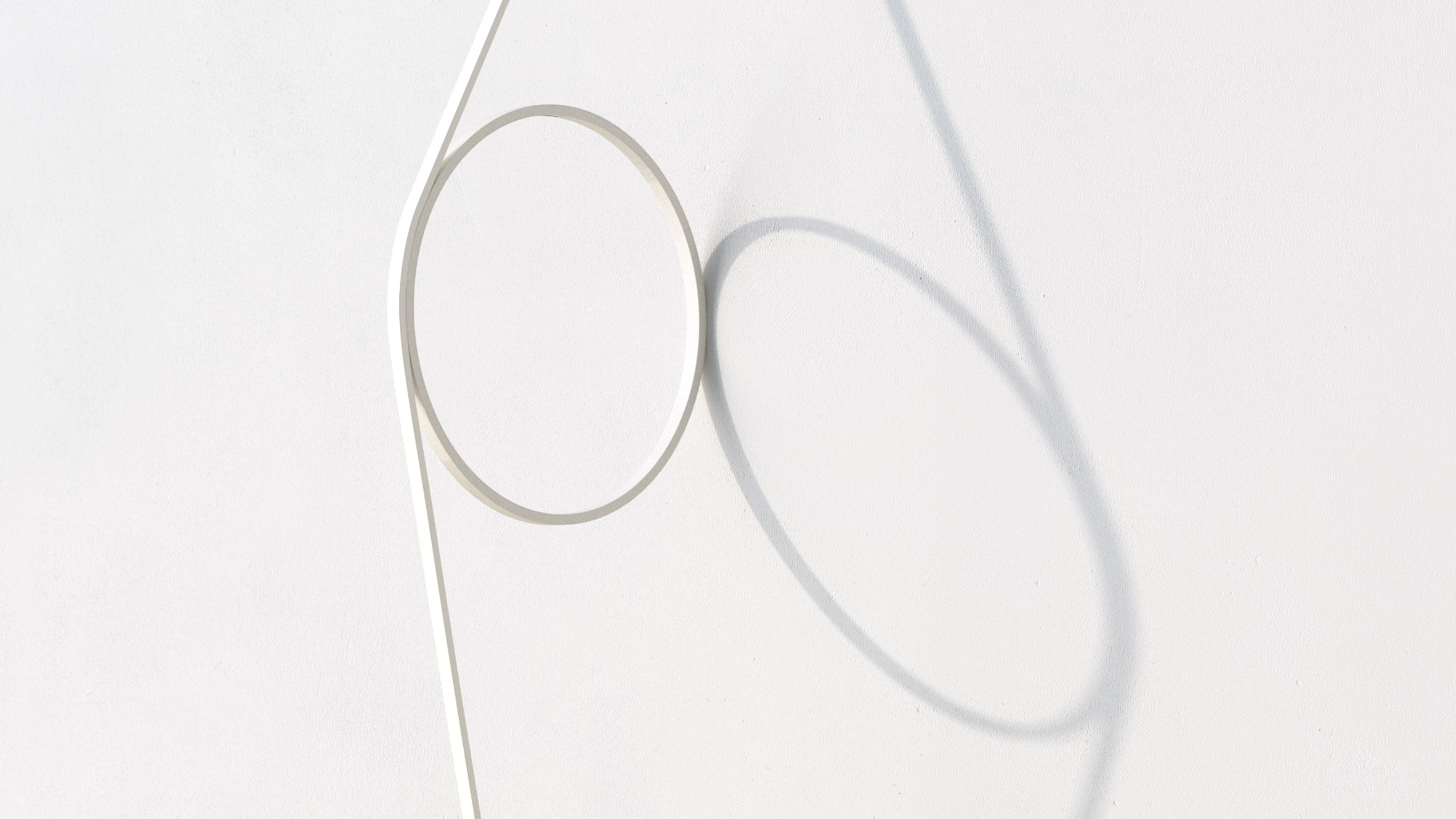 Formafantasmas Wire Ring Lamp Turns The Power Cable Into A Design Wiring Black White Feature