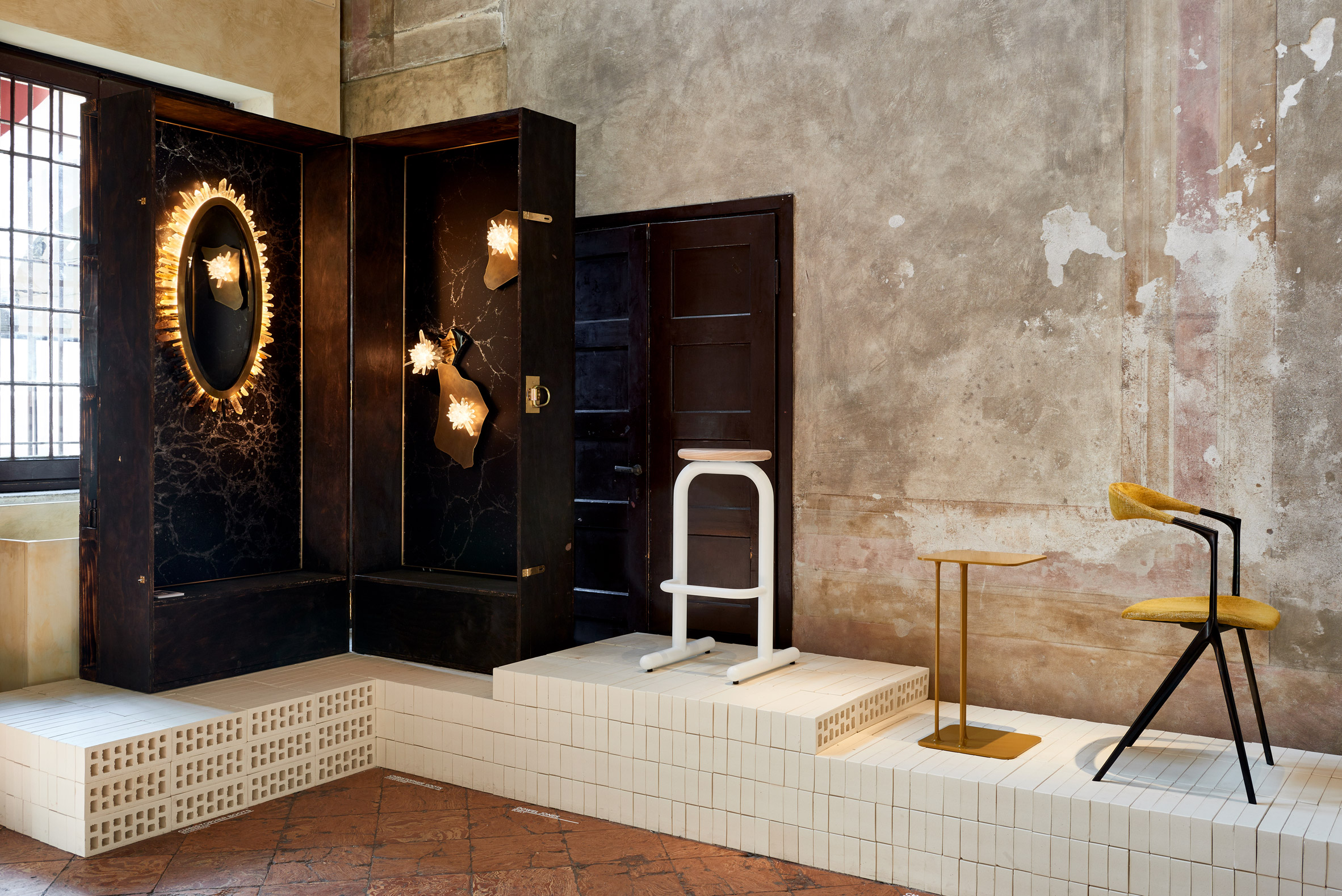 Australian designers take over the oratory in one of Milan's oldest churches