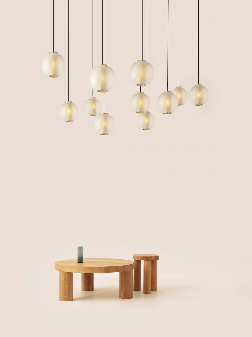 Resident pendant lighting Milan Design Week
