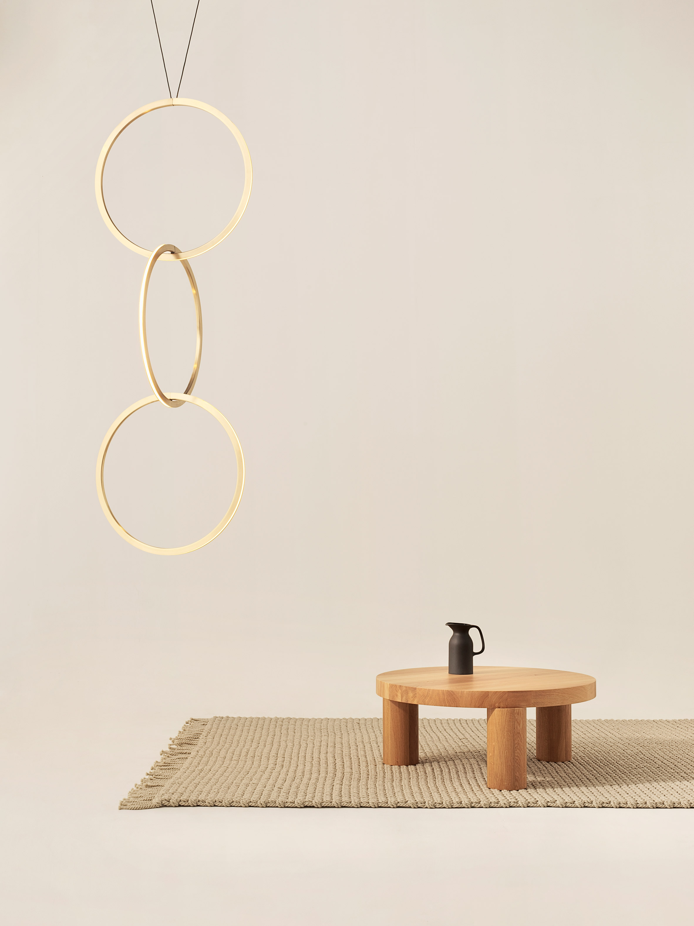 """Resident's Circus pendants connect together to form a """"never-ending chain of light"""""""