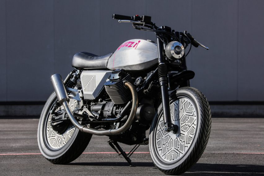 Tomoto Tom Dixon motorcycle for Moto Guzzi