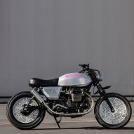Tom Dixon creates custom motorcycle for Moto Guzzi named Tomoto