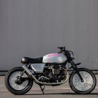 Tom Dixon creates custom motorcycle for Moto Guzzi named Tomoto