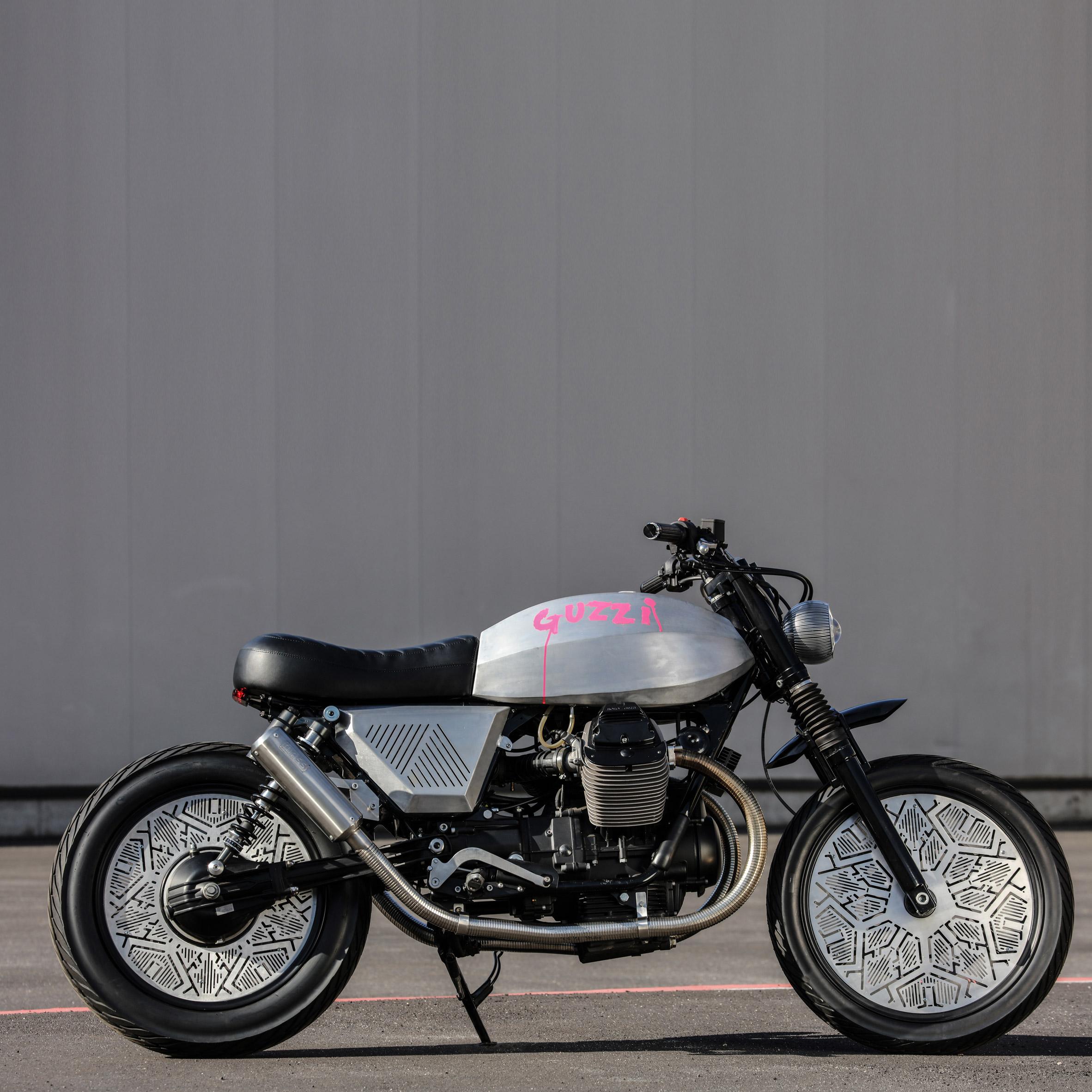 Tomoto Tom Dixon motorcycle for Moto Guzzi