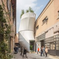 "Air-filtering house in Milan ""contributes to improving urban life"" says SO-IL and MINI"