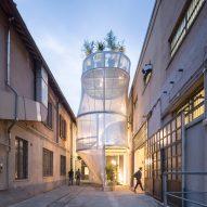 MINI Living Breathe installation at Milan design week