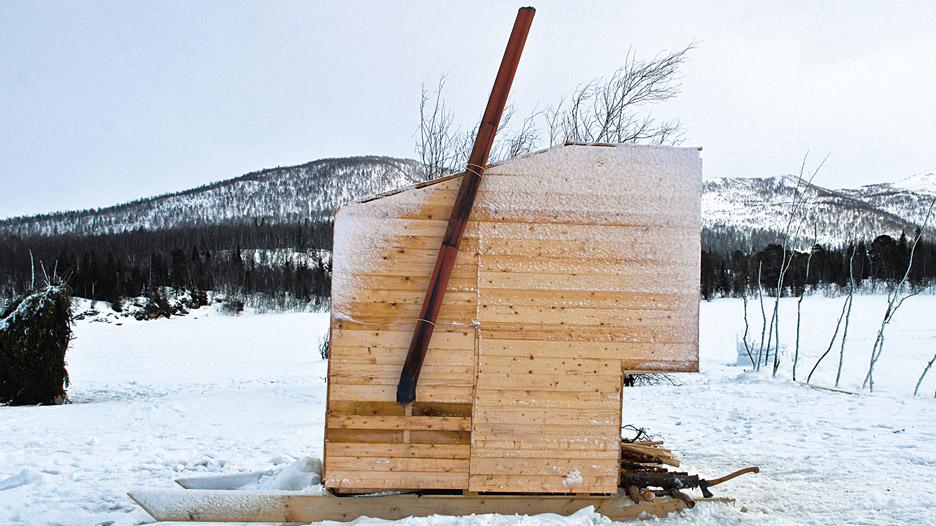 Nomad Sauna by Marco Casagrande