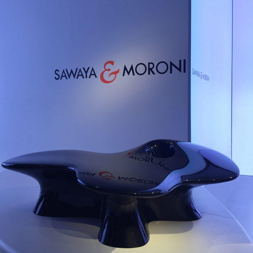 Mogu chair by Ma Yansong at Milan design week