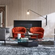 Molteni flagship showroom by Vincent van Duysen at Milan design week