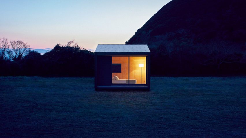 Lovely Muji To Sell Tiny Blackened Timber Prefab Huts For £21,000