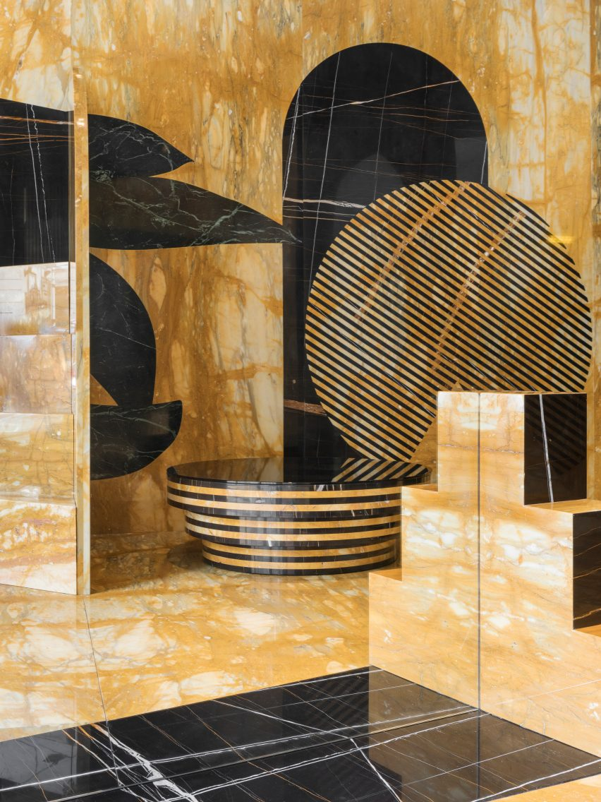 Mystical Solace installation by De Allegri and Fogale at Milan design week