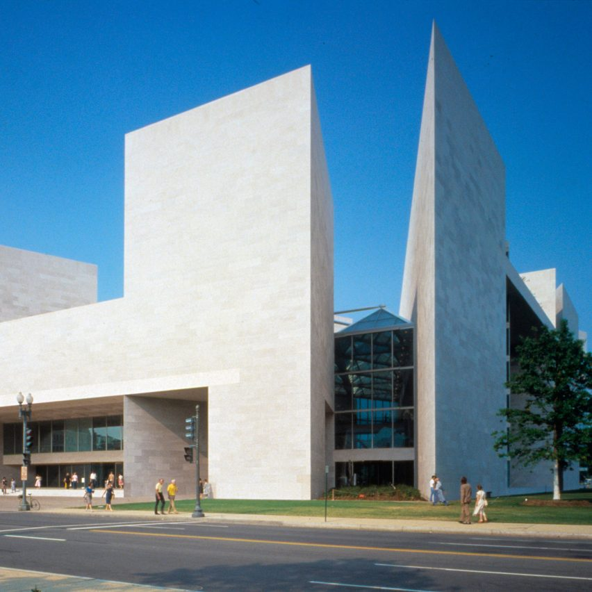 National Gallery of Art East Building, by I.M. Pei