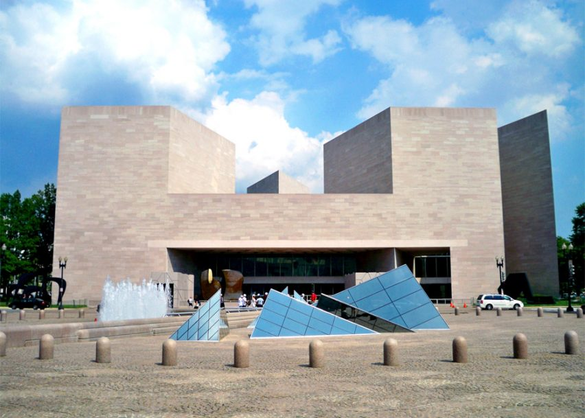 National Gallery of Art East Building by I.M. Pei