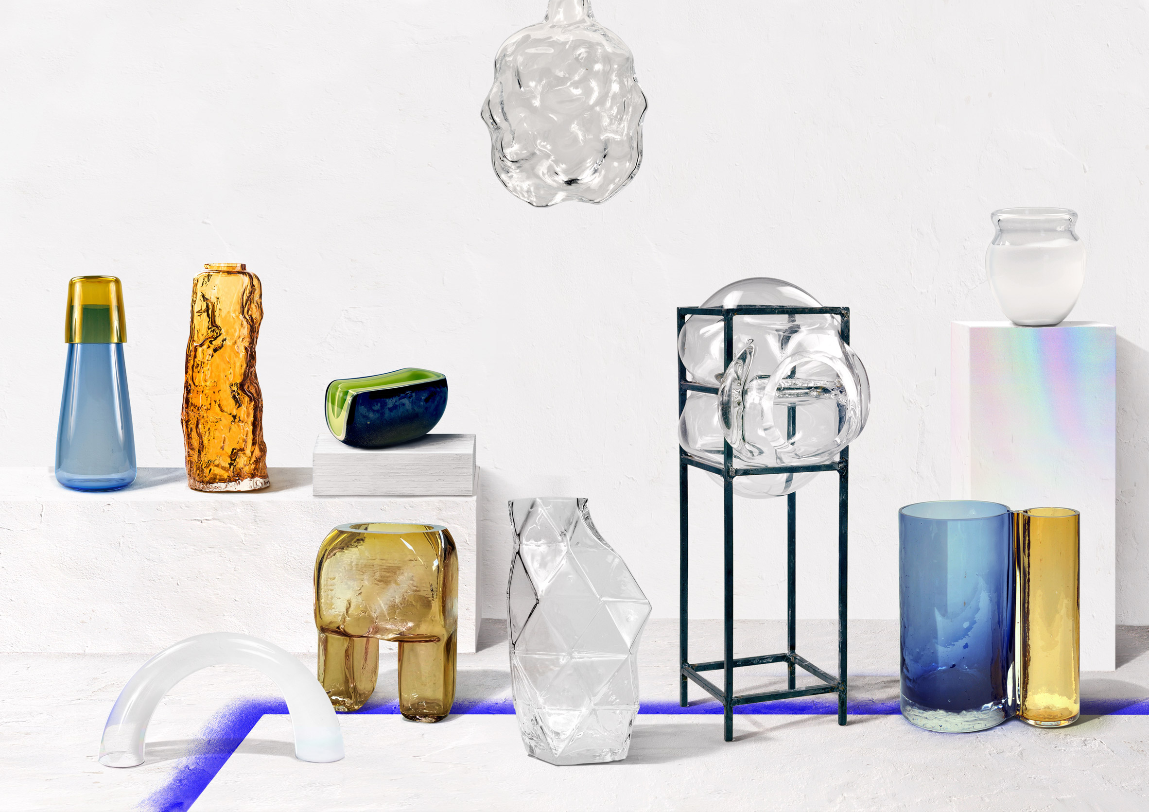 Portuguese designers rethink traditional glass blowing for OFF Portugal exhibition