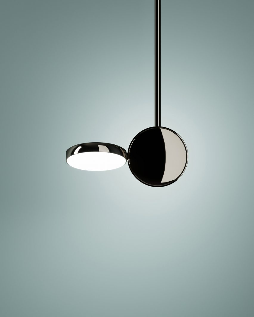 Claesson Koivisto Rune's Optunia lights at Milan design week
