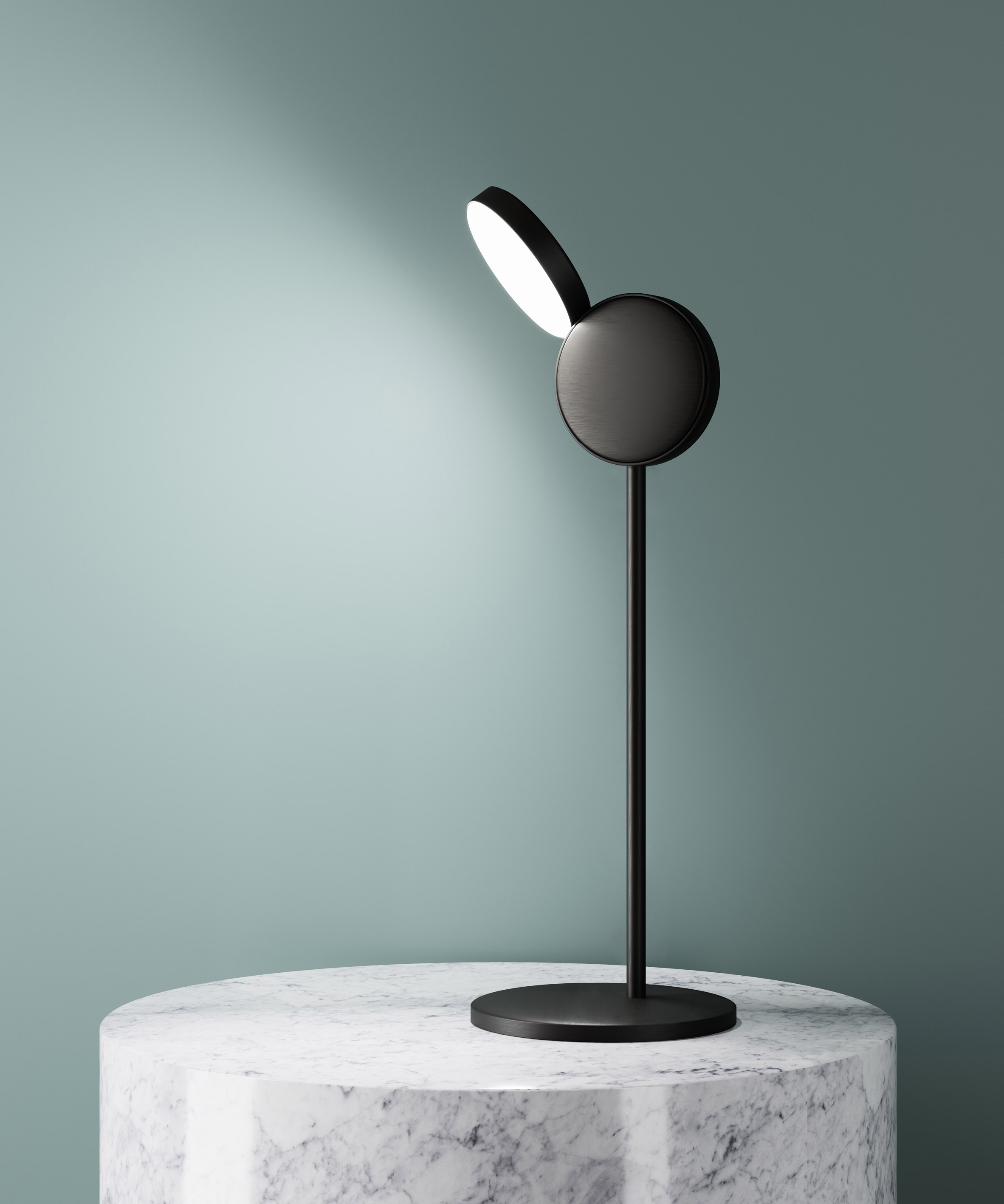 """Claesson Koivisto Rune's disc-shaped Optunia lights are """"devoid of unnecessary detailing"""""""
