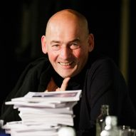 "Cities are ""deeply tragic"" says Rem Koolhaas"