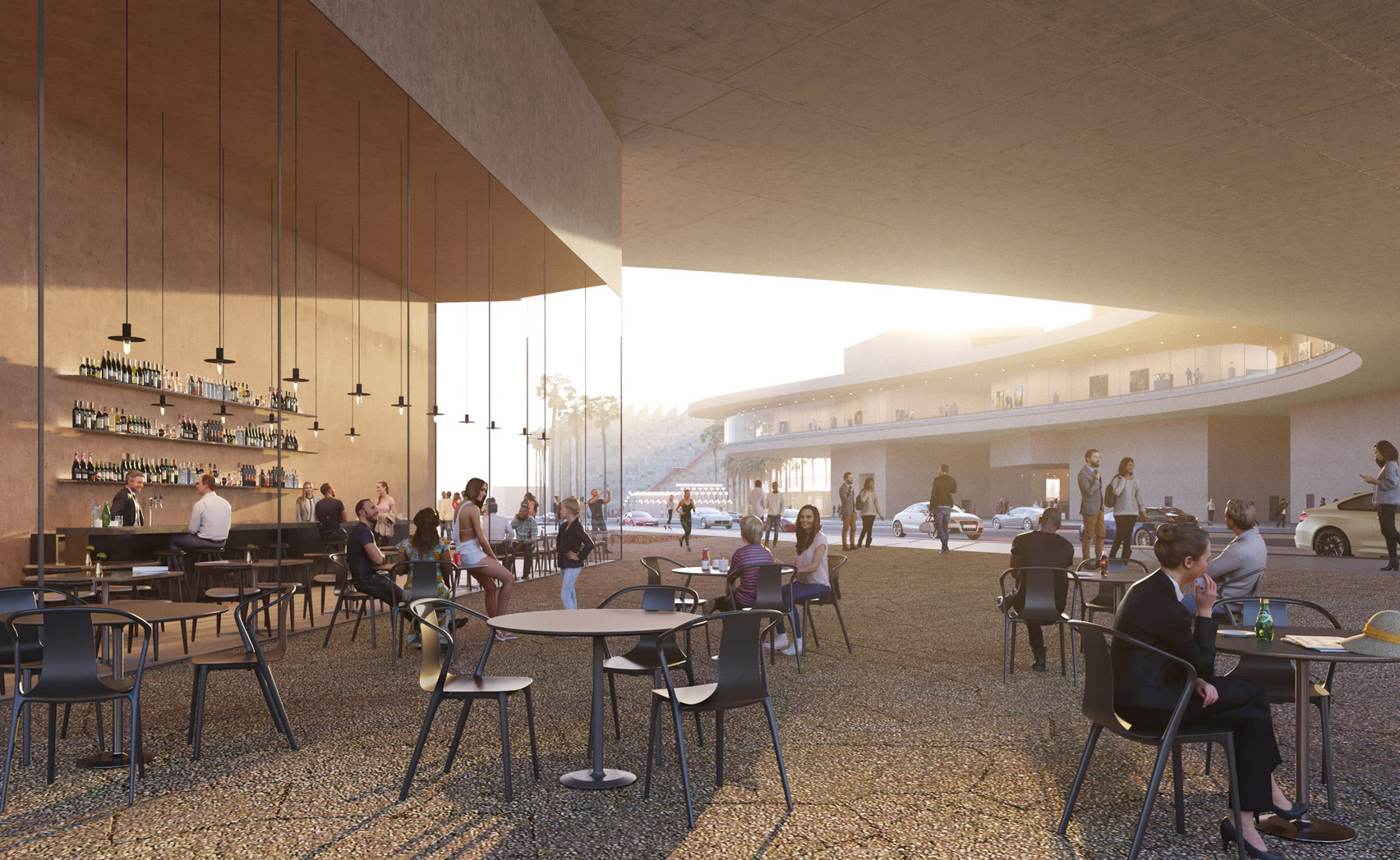 Peter Zumthor ditches the black for his LACMA expansion plans