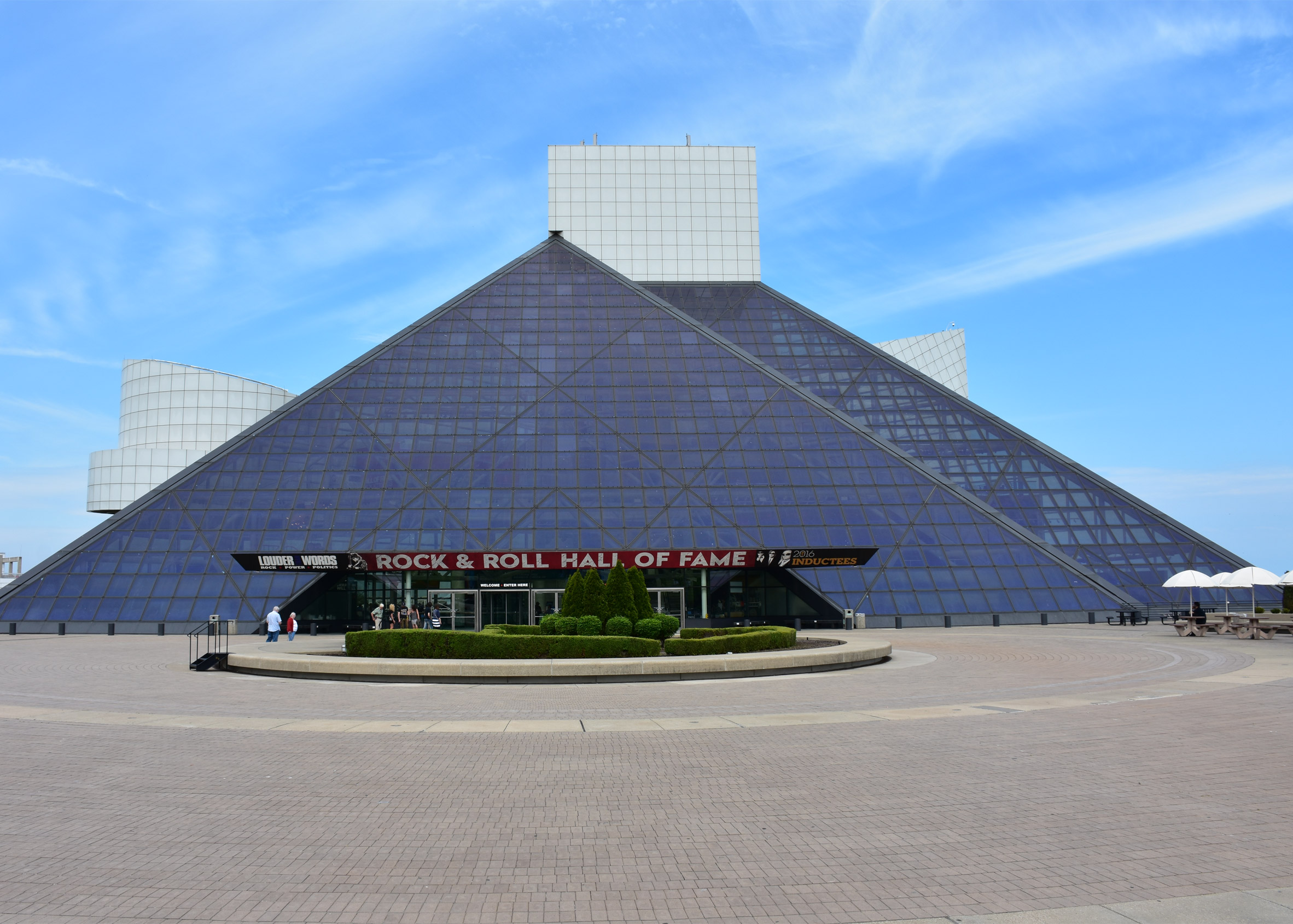 Rock and Roll Hall of Fame by I.M. Pei