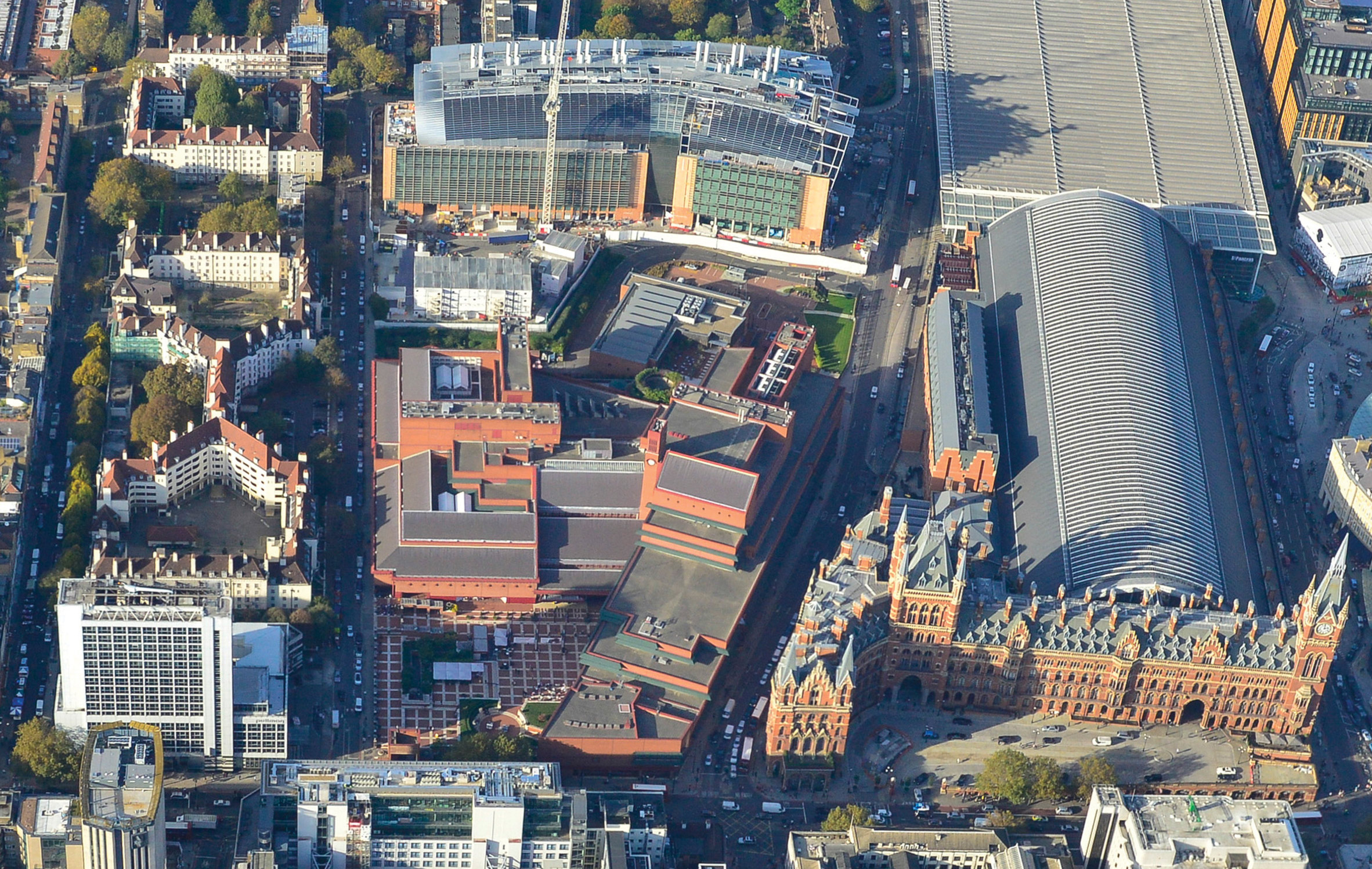 Rogers Stirk Harbour + Partners to design British Library extension
