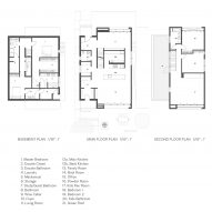 Plan for Rough House by Measured. Architecture