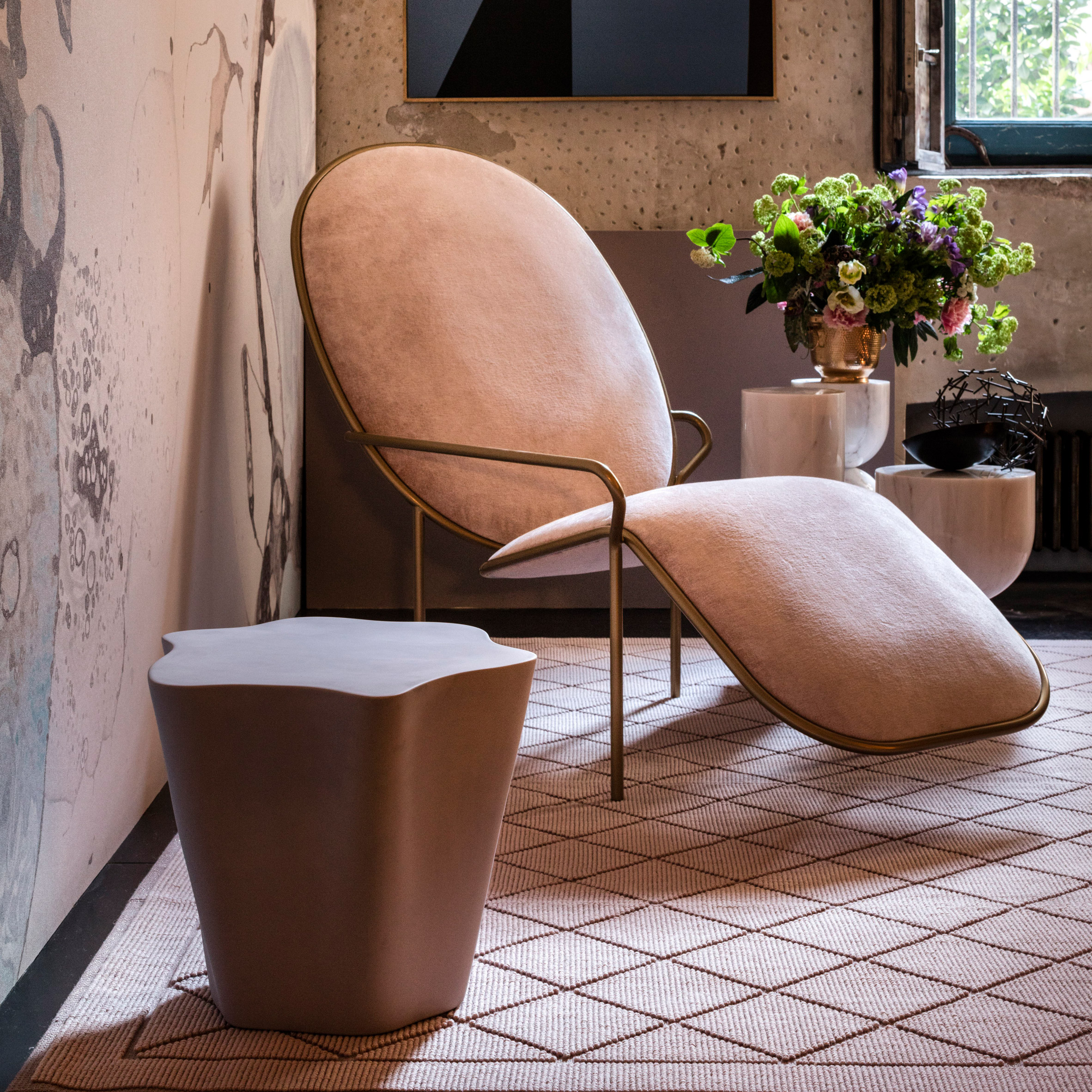 10 furniture designs from Milan 2017 that showcase millennial pink