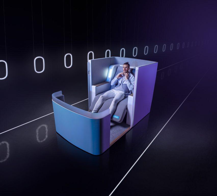 Aeroplane seat by Simba