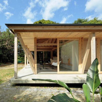 ISSHO Architects uses timber frames to create typhoon-resistant house on a  tropical island