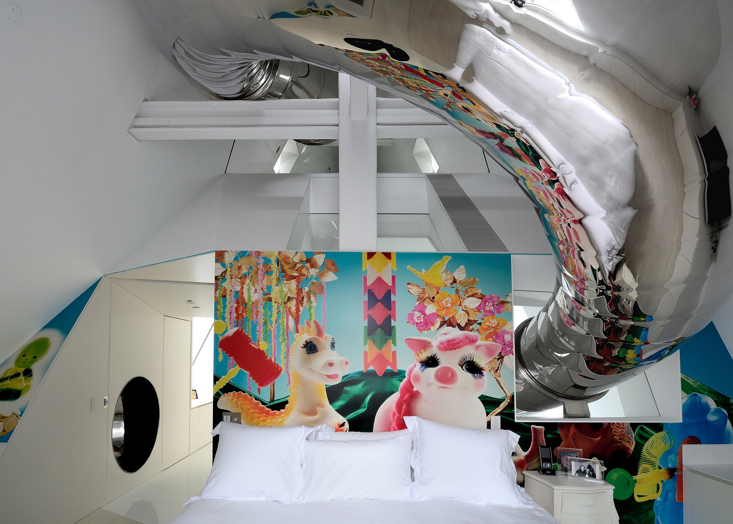 Skyhouse, USA, by David Hotson and Ghislaine Vinas