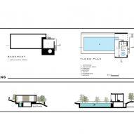 Plans of Sohanak Swimming Pool by KRDS