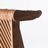 Swish stool for Cassina