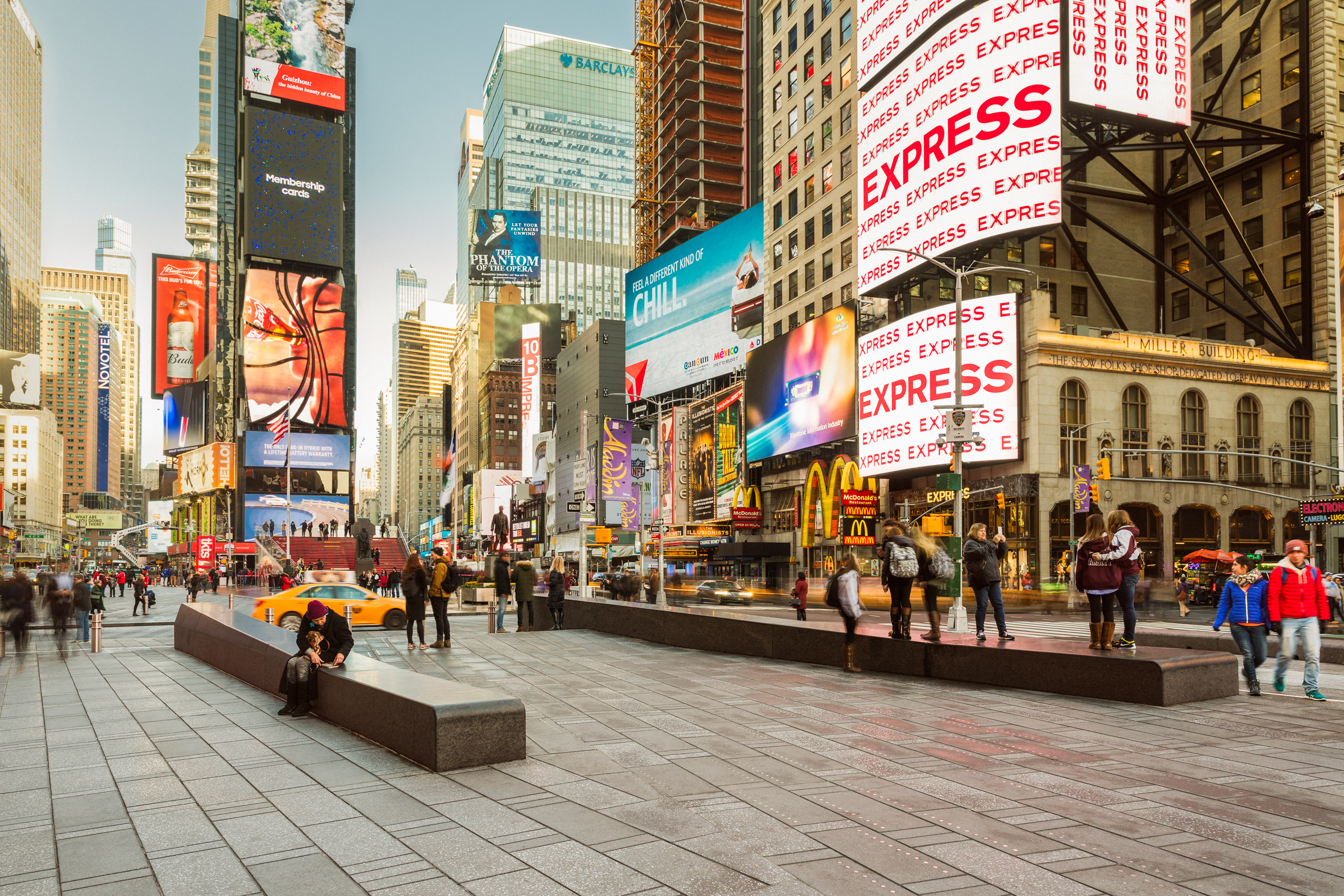 Snøhetta's Redisgn for New York's Times Square