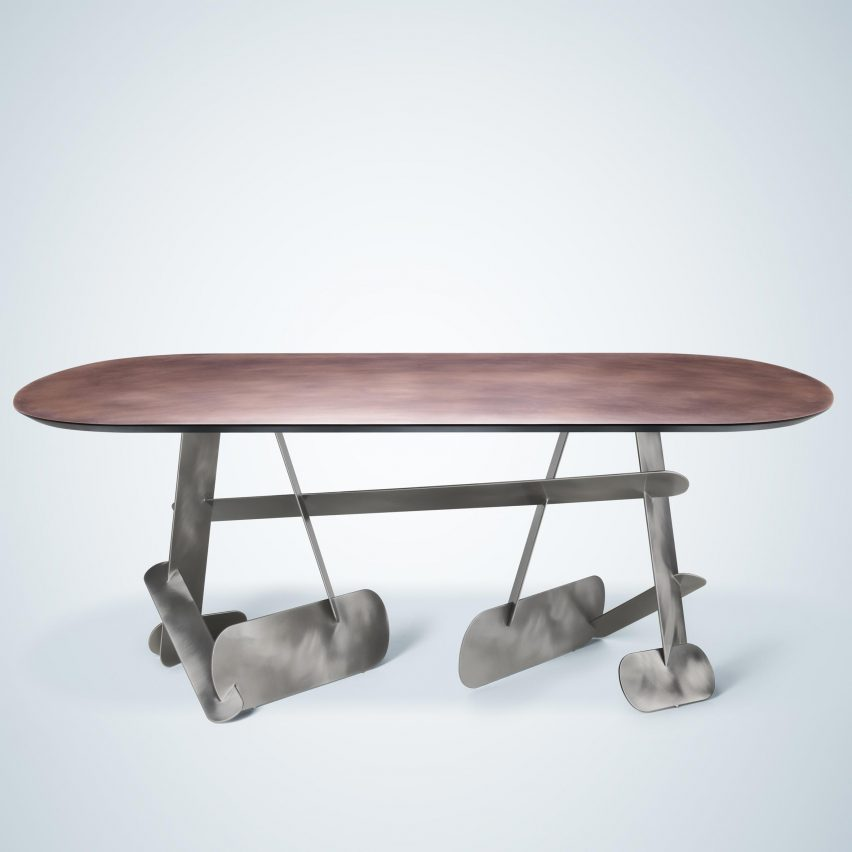 metal furniture design. French Designer Constance Guisset Wanted To Show How Metal Can Be \ Furniture Design
