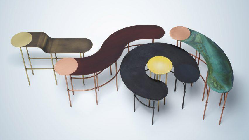 metal furniture design. Seven Female Designers Asked To Create Metal Furniture With \ Design