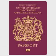 Britain's first post-Brexit passport could be designed by a French or German company