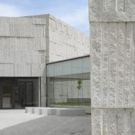 Zooco Estudio uses granite to unify disparate blocks of Gallician arts centre