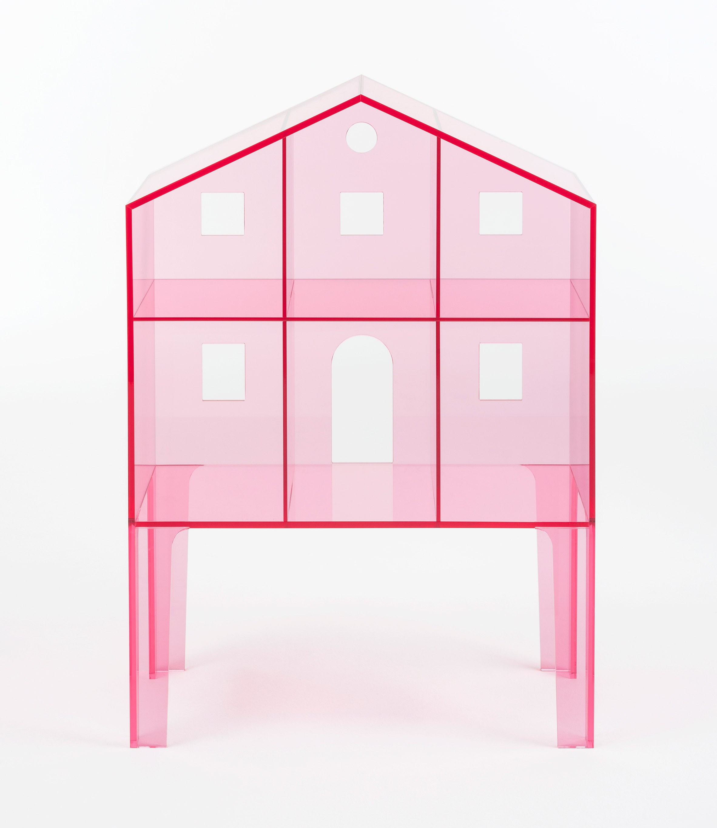 Kartell adds to children's line with ultra-minimal Villa doll's houses