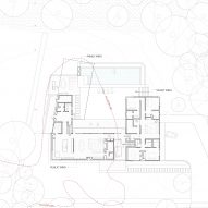 Plan of Watermill House by Office of Architecture