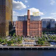 Williamsburg's Domino Sugar Factory site to become six-acre park by James Corner Field Operations