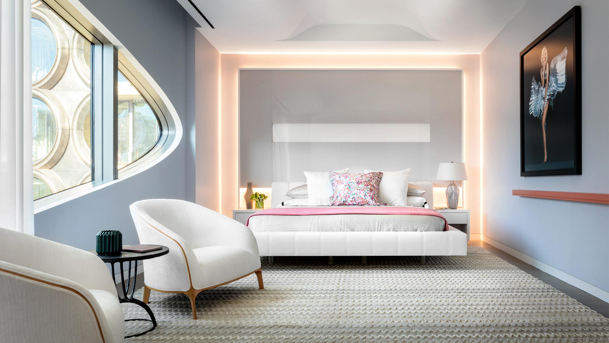Interior of Zaha Hadid's 520 West 28th Street Apartments