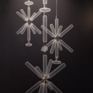 Yabu Pushelberg presents handblown celestial lighting collection for Lasvit