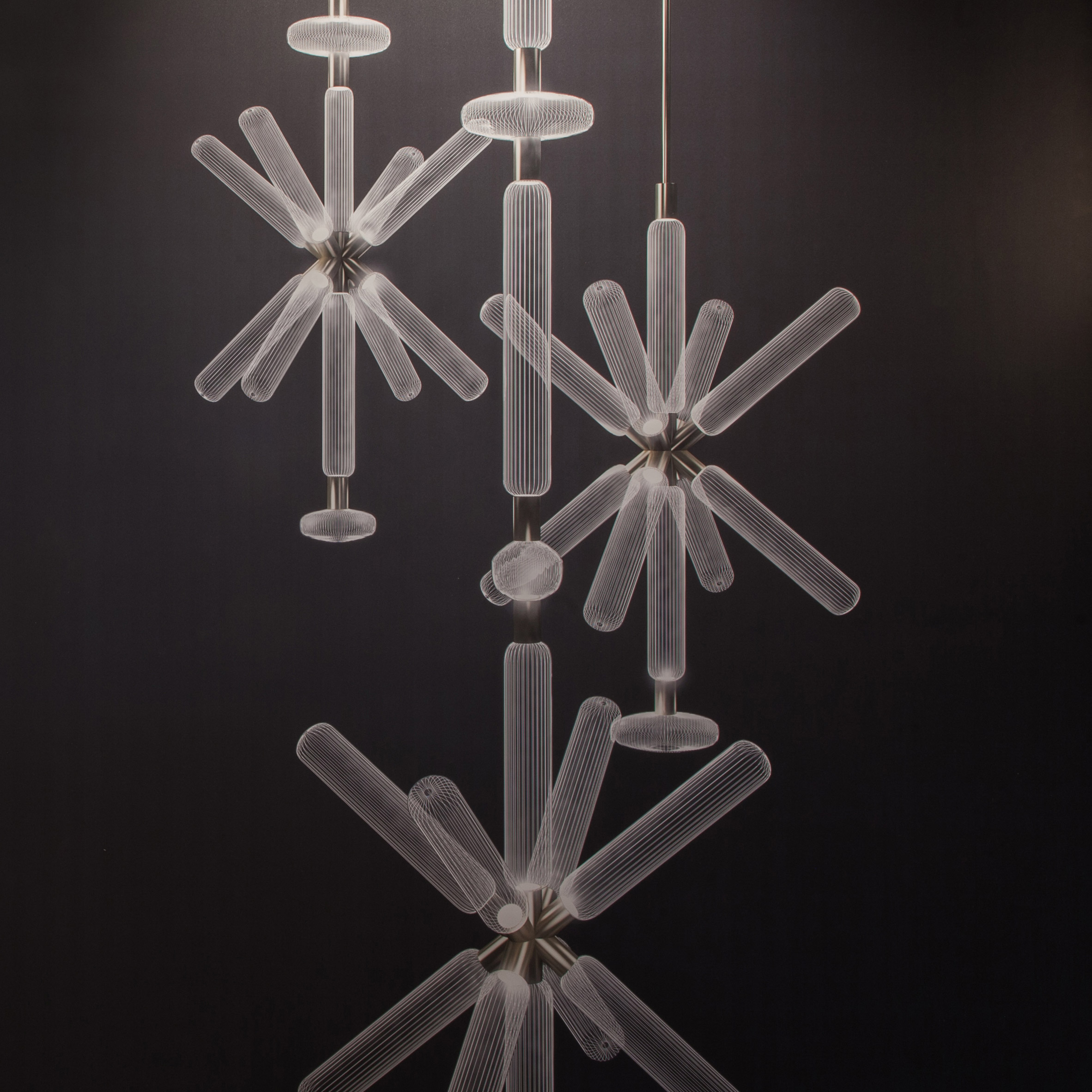 Cool Yabu Pushelberg presents handblown celestial lighting collection for Lasvit