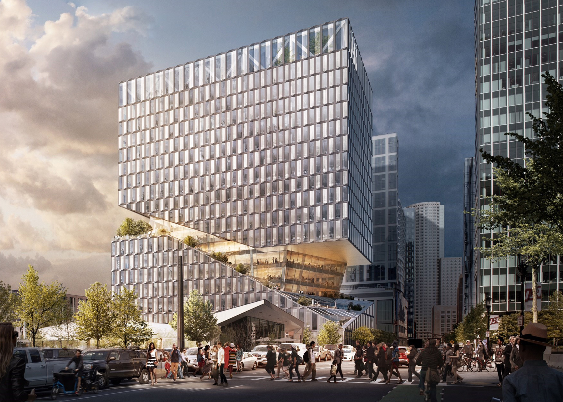 OMA to Design Mixed-Used Project in Boston's Seaport District